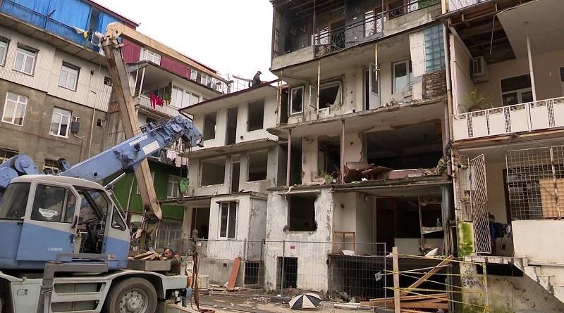 ახვლედიანის ქუჩაზე აფეთქების შედეგადდანგრეული სახლის მშენებლობა 1 მარტს დაიწყება