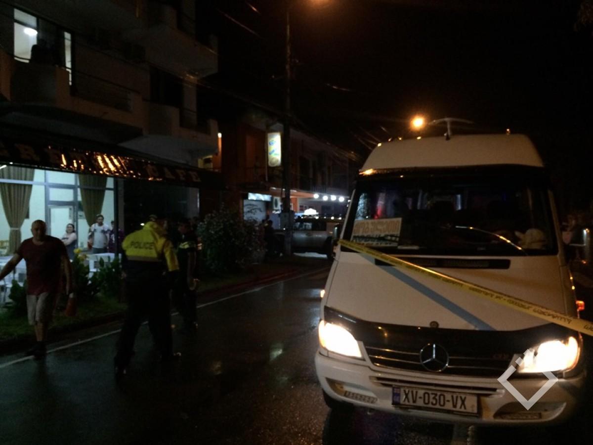 მიკროავტობუსი ორ ქვეითს დაეჯახა - ავარია ქობულეთში
