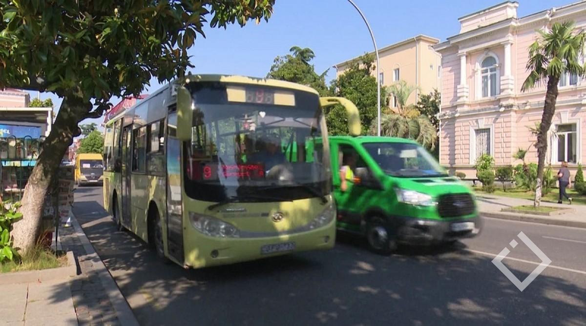 ხვალიდან აჭარაში საზოგადოებრივი ტრანსპორტით გადაადგილება შეჩერდება